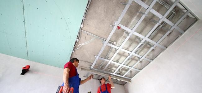 Quelles sont les préparations pour une pose de faux plafond en placo ?
